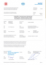 Merilno poročilo o učinkovitosti TČ